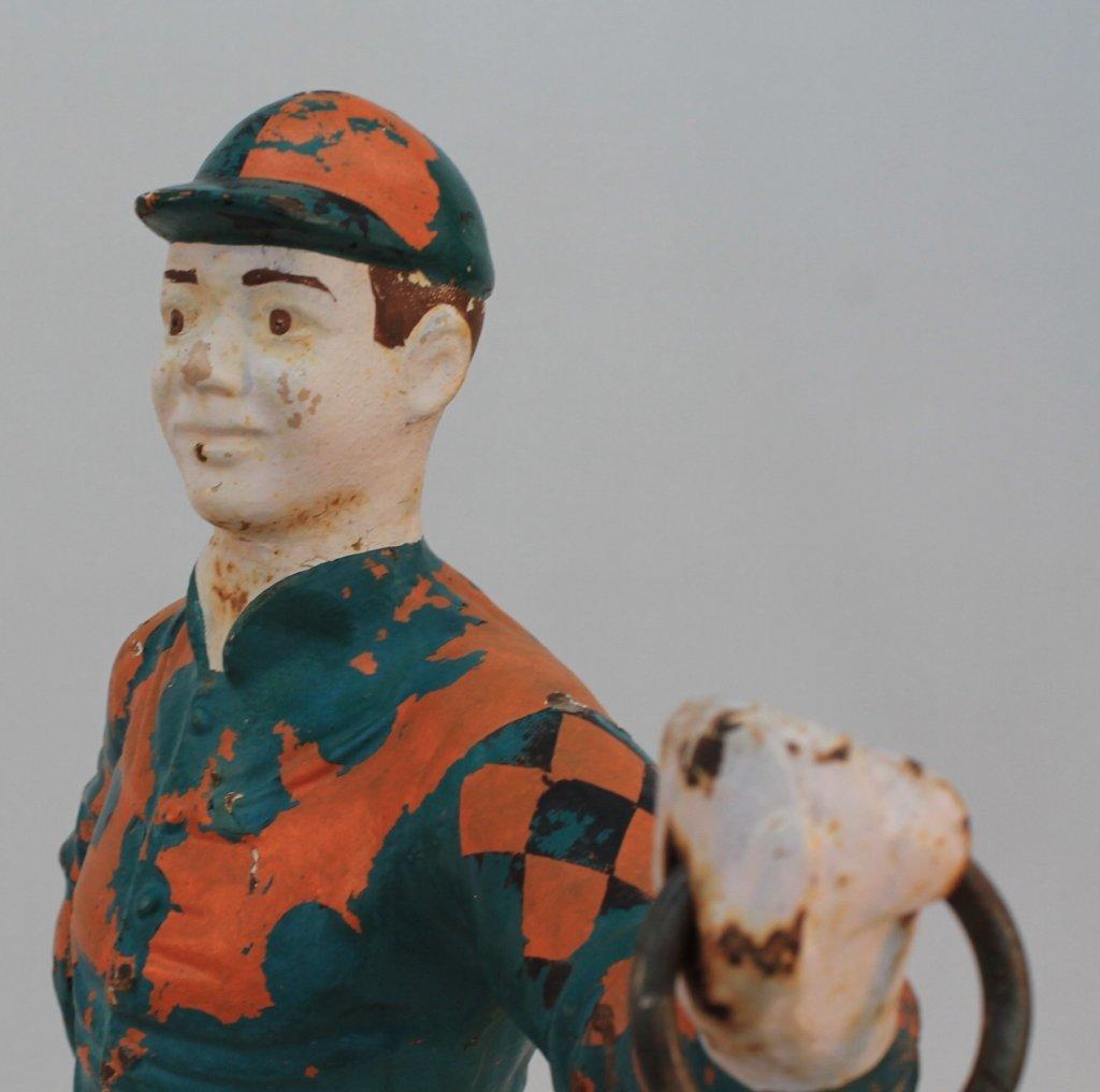 American Cast Iron Lawn Jockey - 3