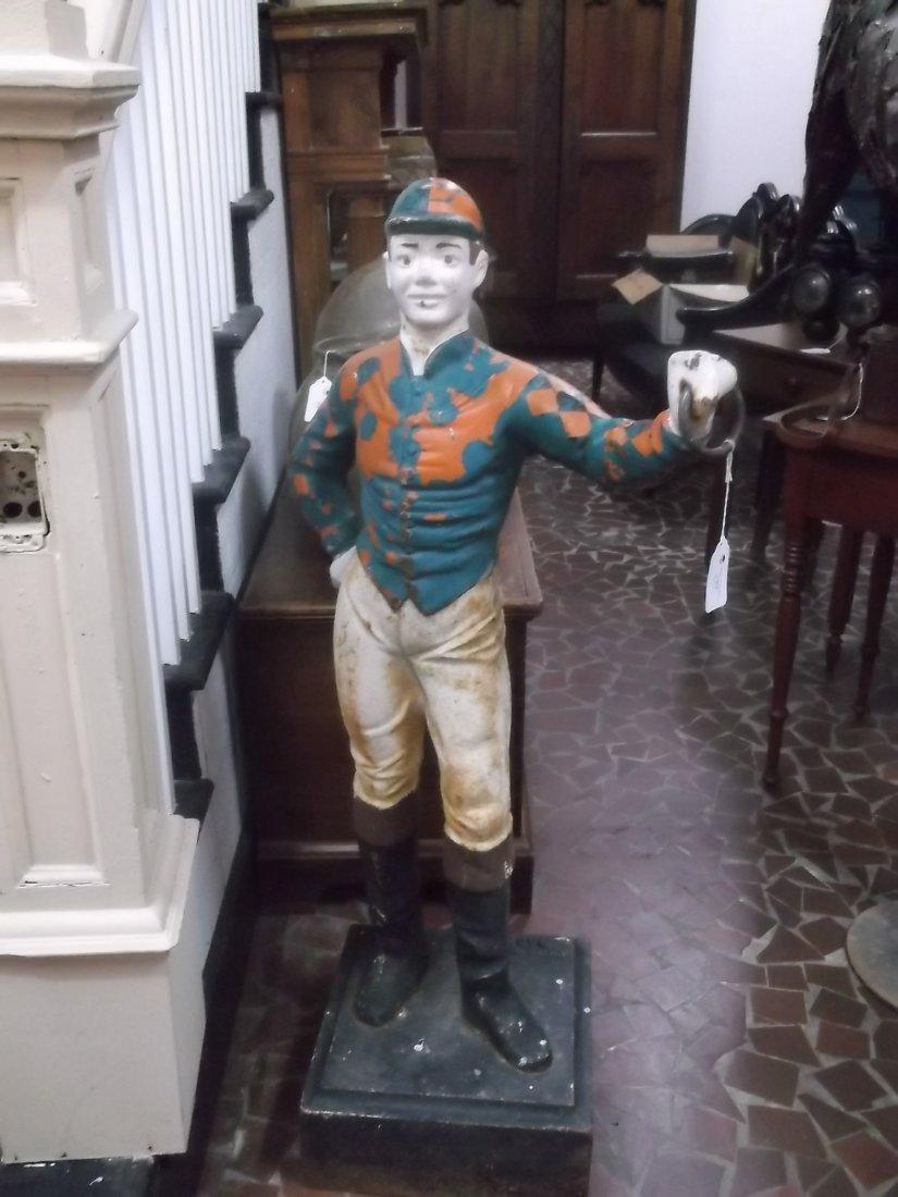 American Cast Iron Lawn Jockey - 5