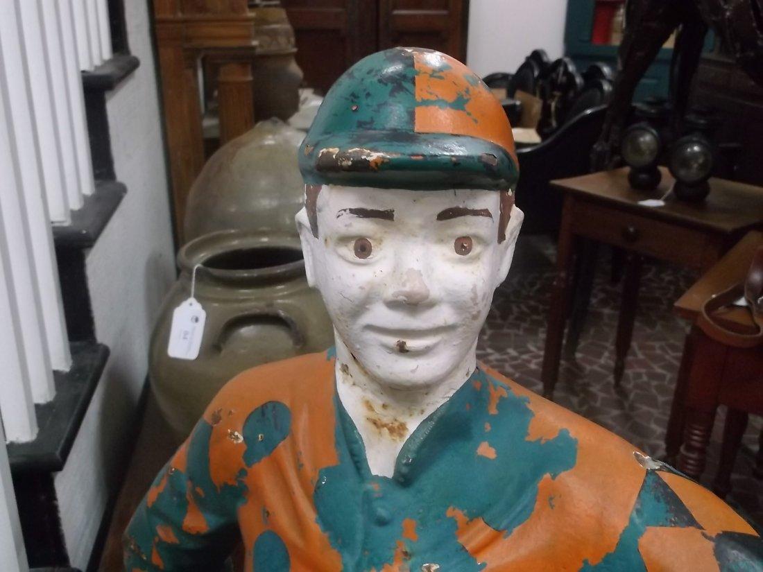 American Cast Iron Lawn Jockey - 6