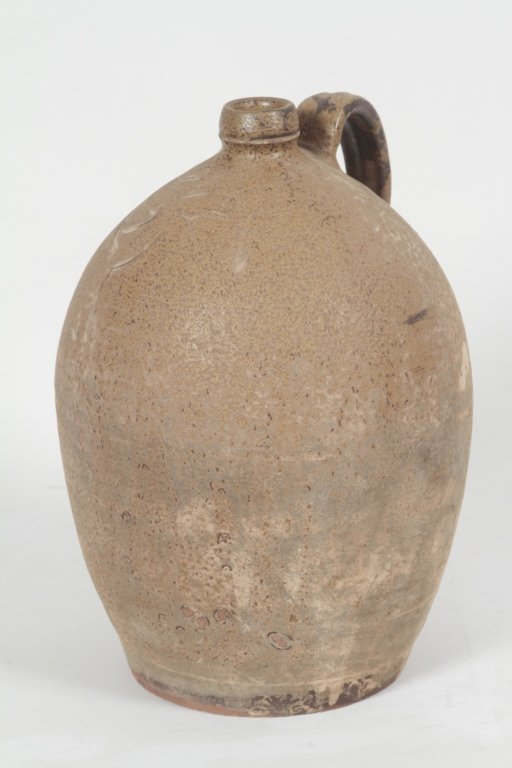 Dated Southern Stoneware Jug, Edgefield, SC