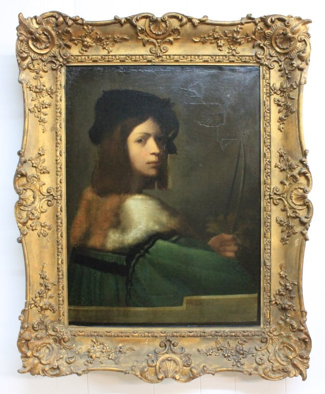 Exceptional Italian Old Master Portrait of Boy