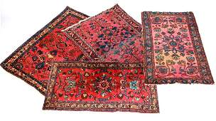 Group of Four Antique Persian Rugs