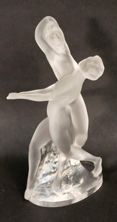 Lalique Crystal Dancer Figurine