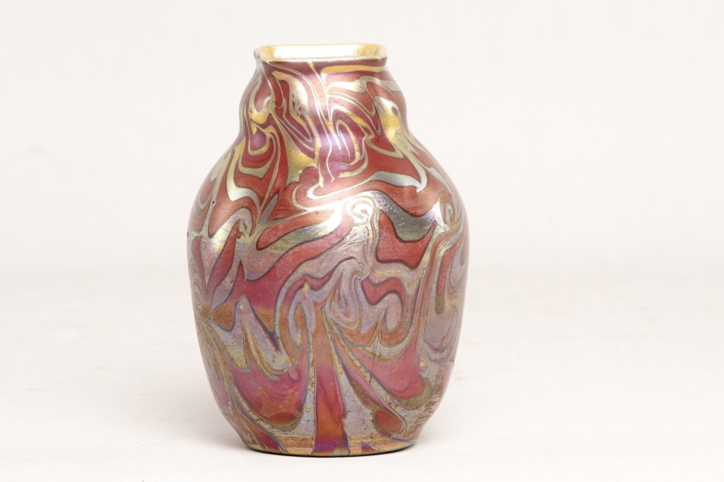 Very Fine Iradecent Art Glass Vase