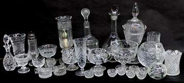 Collection Assorted Cut Crystal
