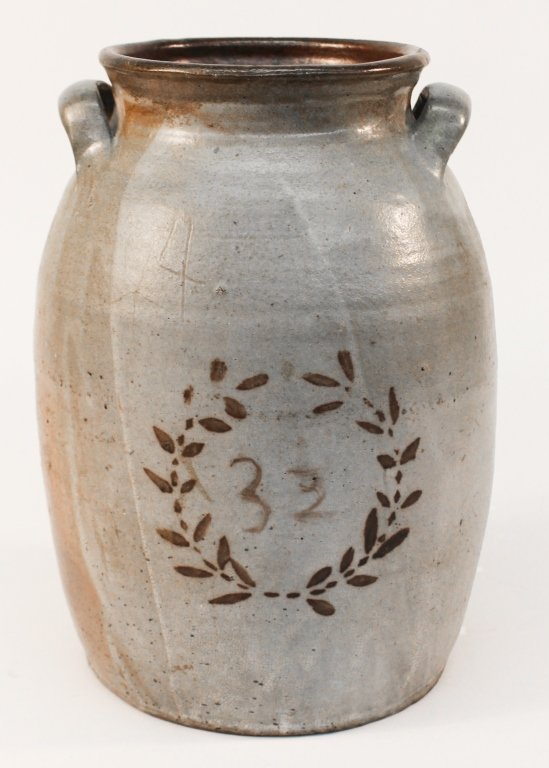 Fine Decorated Southern Stoneware Jar