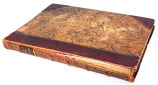 Large Folio Book of William Hogarth Prints