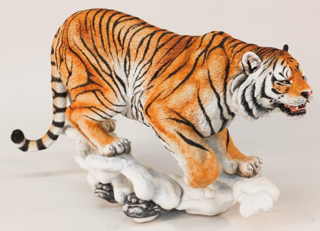 Connoisseur of Malvern Figural Porcelain Tiger