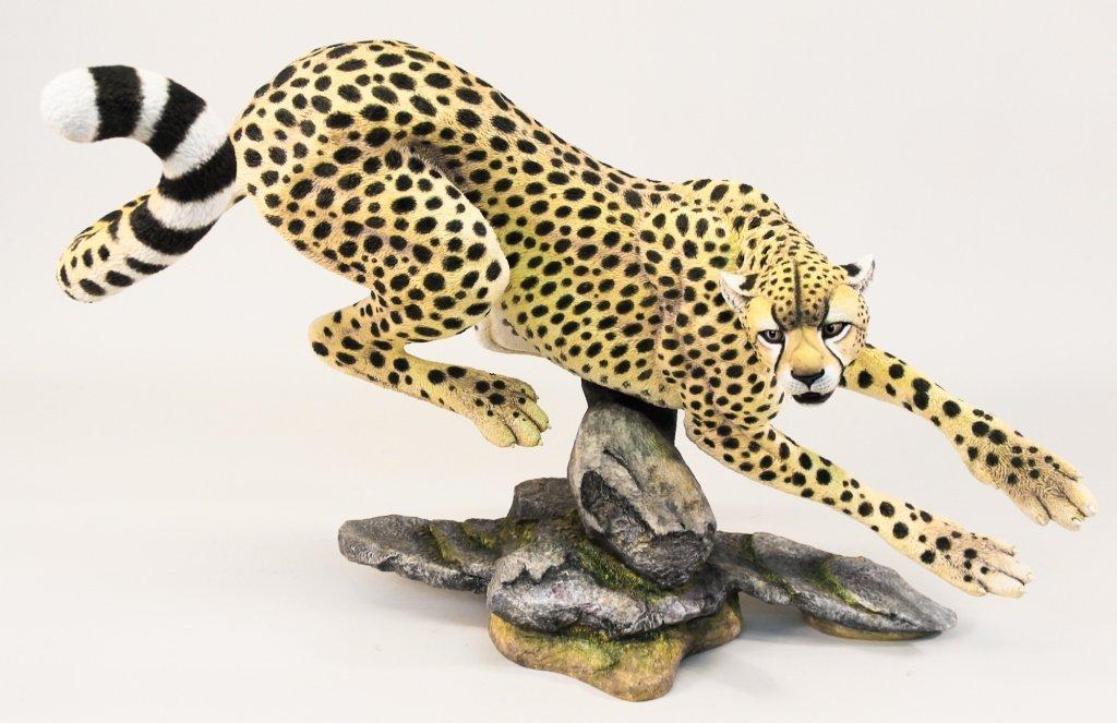 Connoisseur of Malvern Figural Porcelain Cheetah