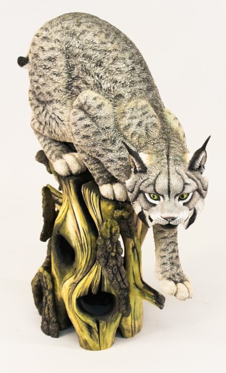 Connoisseur of Malvern Figural Porcelain Lynx