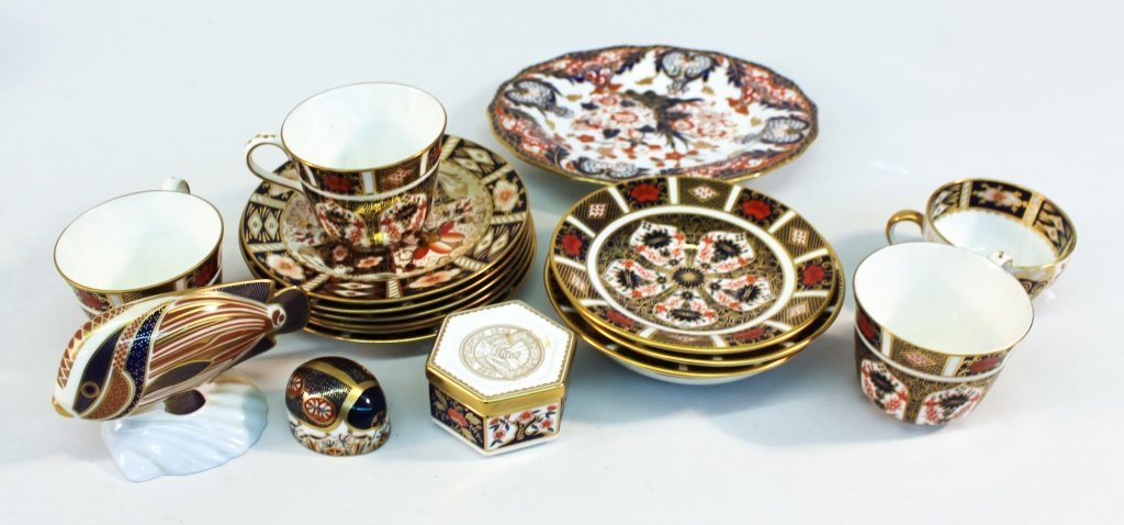 Collection of Royal Crown Derby Imari Pieces