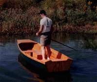 Southern Flat Bottom Handmade Fishing Boat