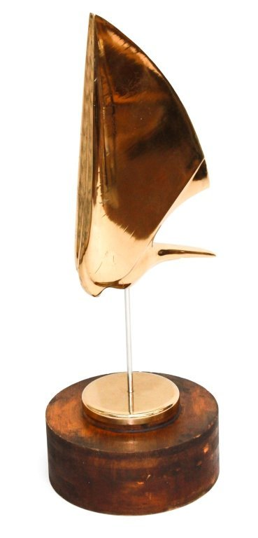Fine Art Deco Cast Bronze Sculpture