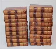 Set of Leather Bound Volumes