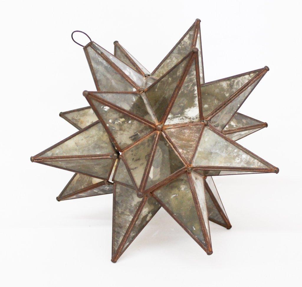 Rare Antique Moravian Star Lantern