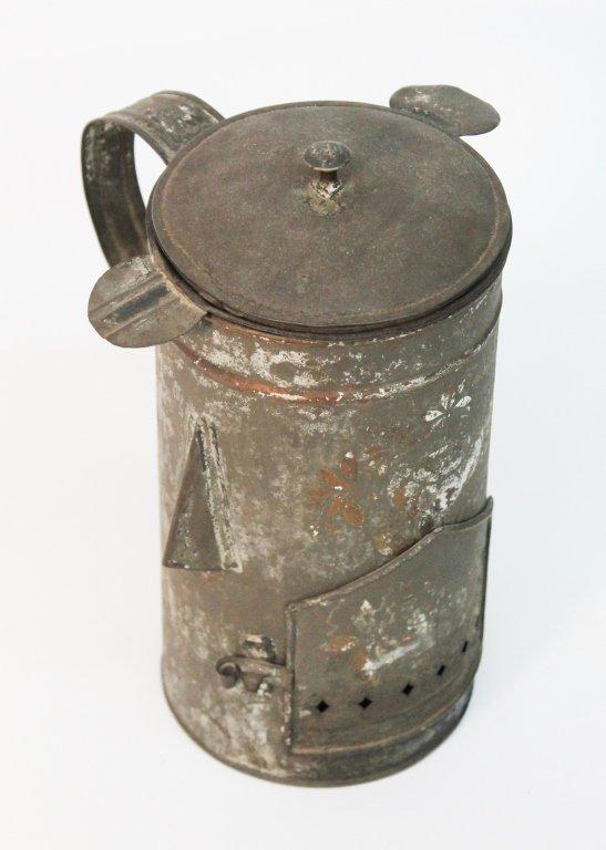 Antique American Tole Food Warmer