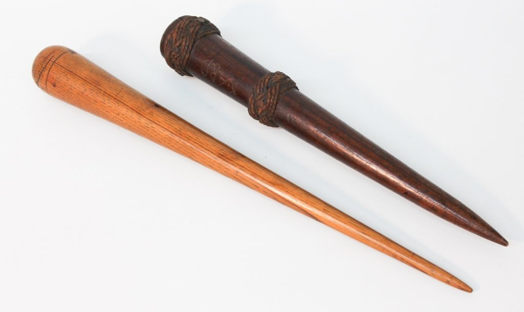 Two Large Wood Fids