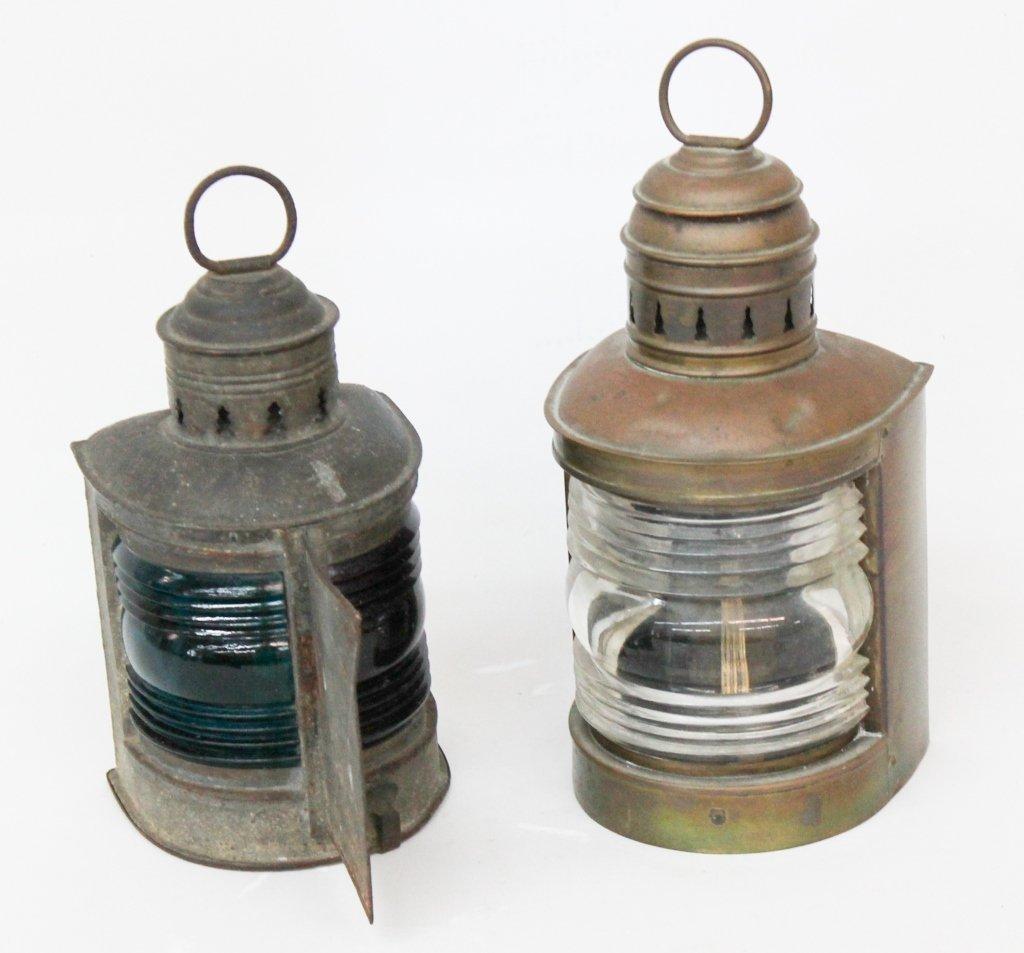 Two Ships' Lanterns