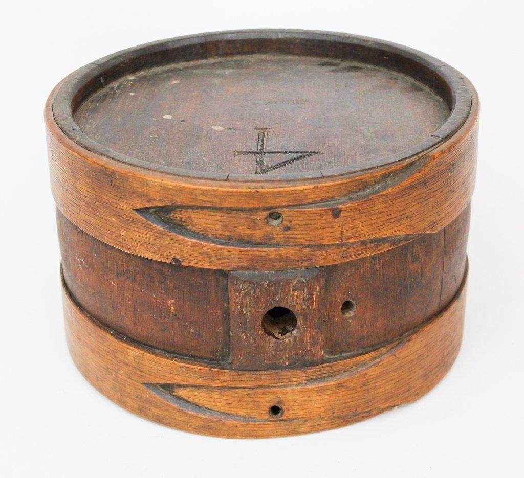 Antique American Bentwood Rumlet
