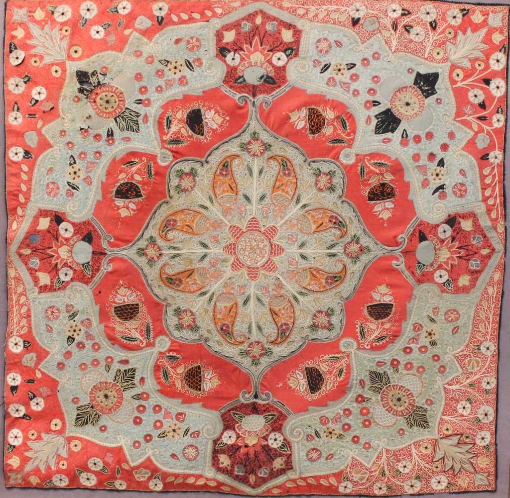 Fine Persian Rasht Needlework