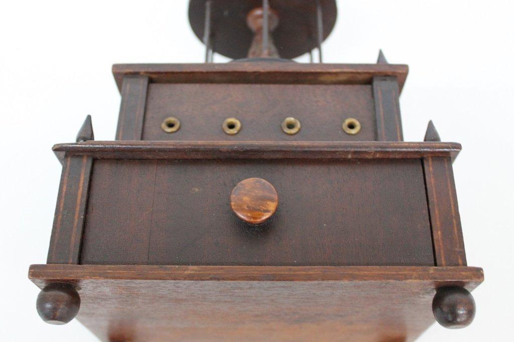 Fine Federal Inlaid Mahogany Sewing Box - 3
