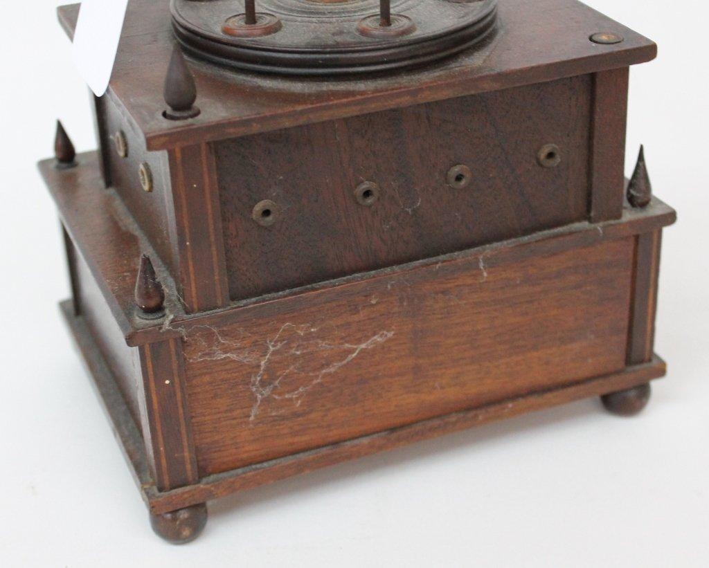 Fine Federal Inlaid Mahogany Sewing Box - 5
