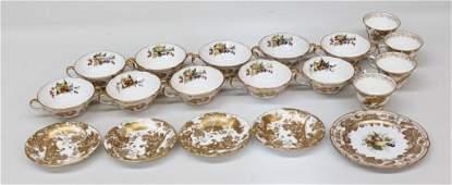 Collection Spode & Royal Crown Derby Porcelain