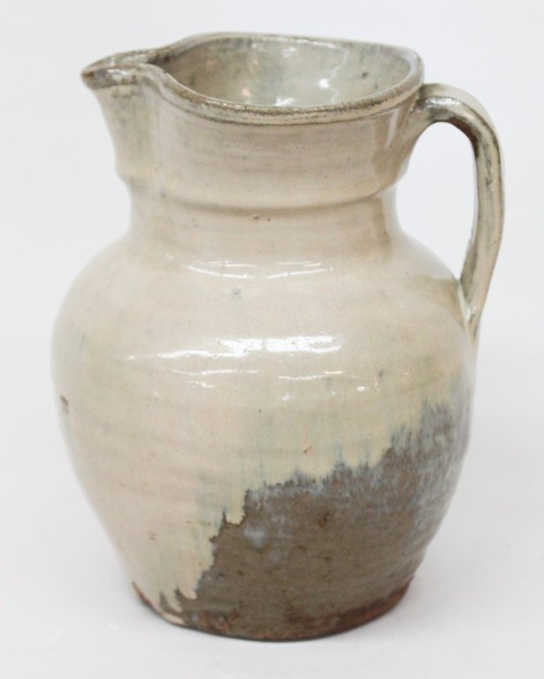 Very Unusual Edgefield Pitcher