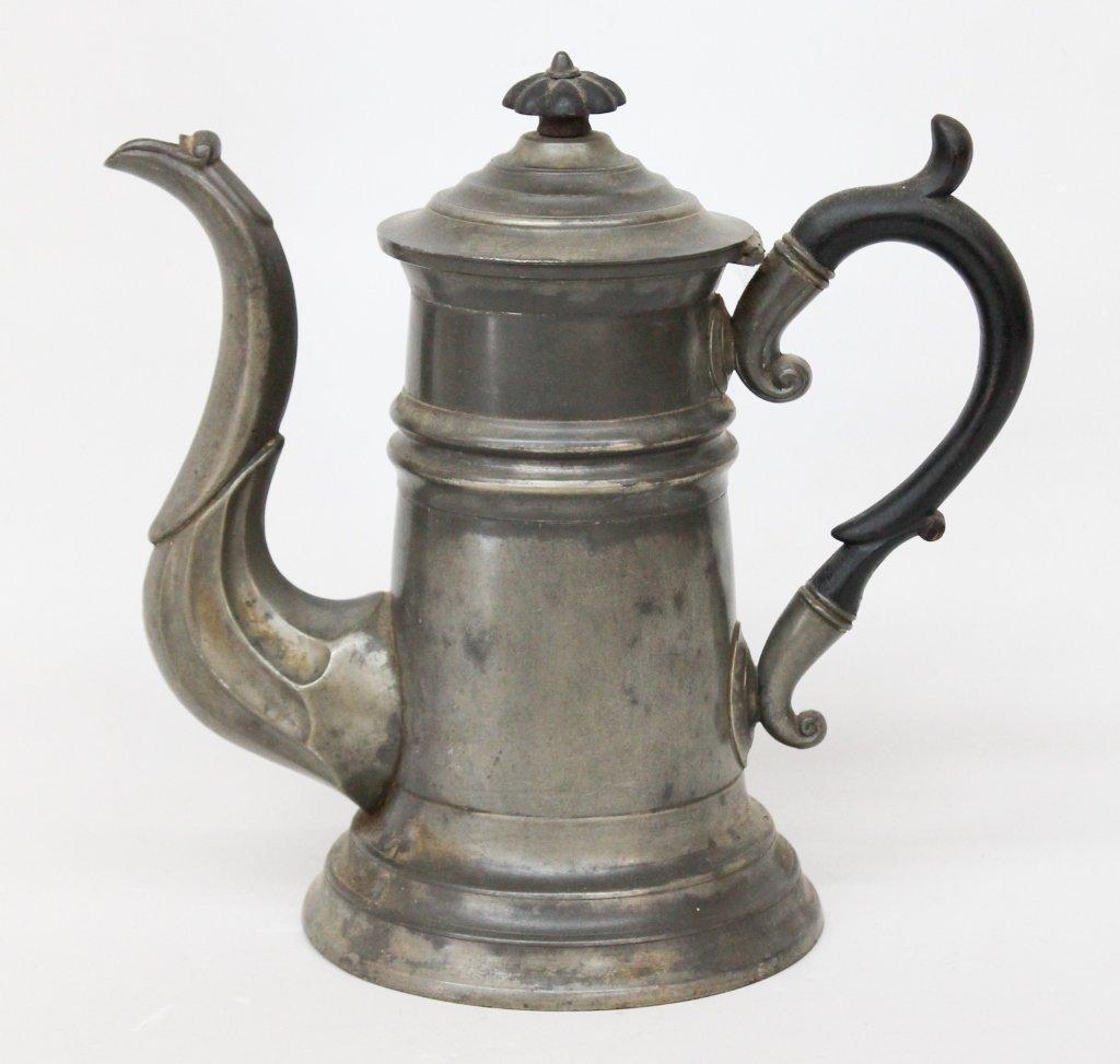 Pewter Coffeepot by Sheldon & Feltman