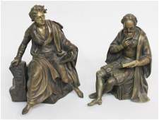Two Continental School Bronze Figures