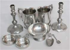Collection Colonial Williamsburg Stieff Pewter