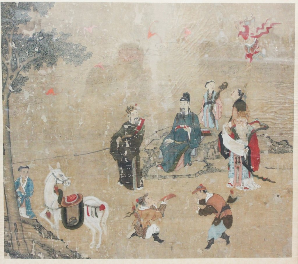 Very Fine & Early Chinese Watercolor on Silk