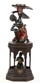 Very Fine Antique Italian Carved Blackamoor