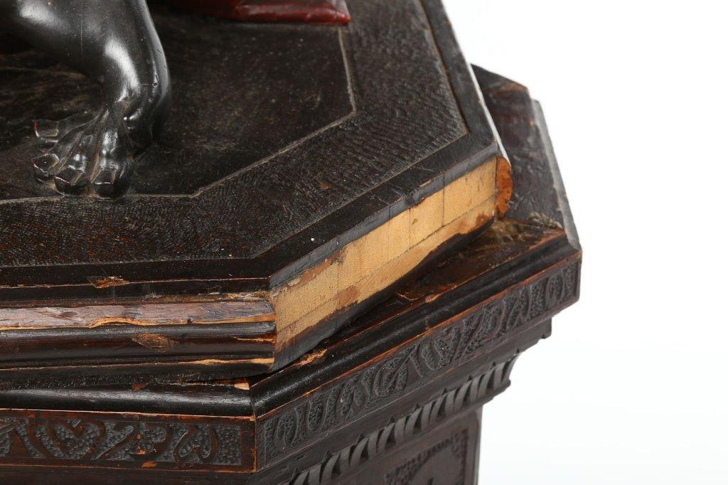 Very Fine Antique Italian Carved Blackamoor - 4