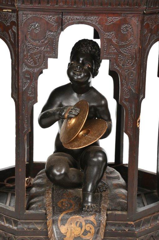 Very Fine Antique Italian Carved Blackamoor - 6