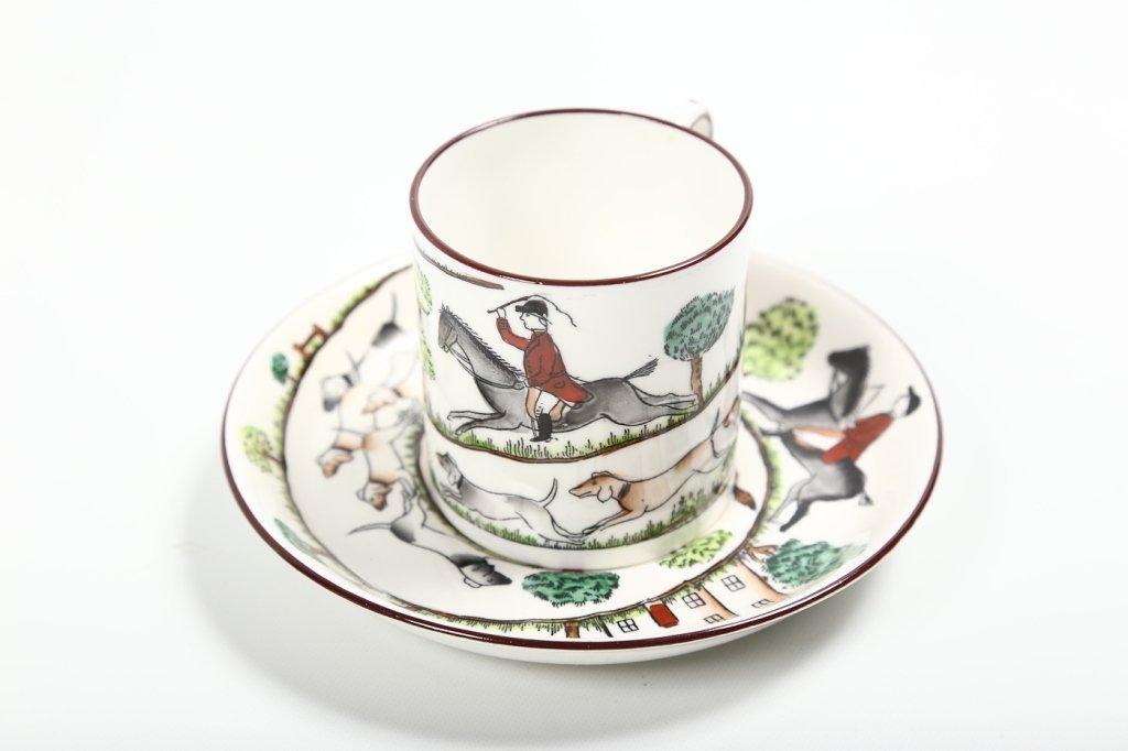 Fine Staffordshire Crown Porcelain Tea Service - 2