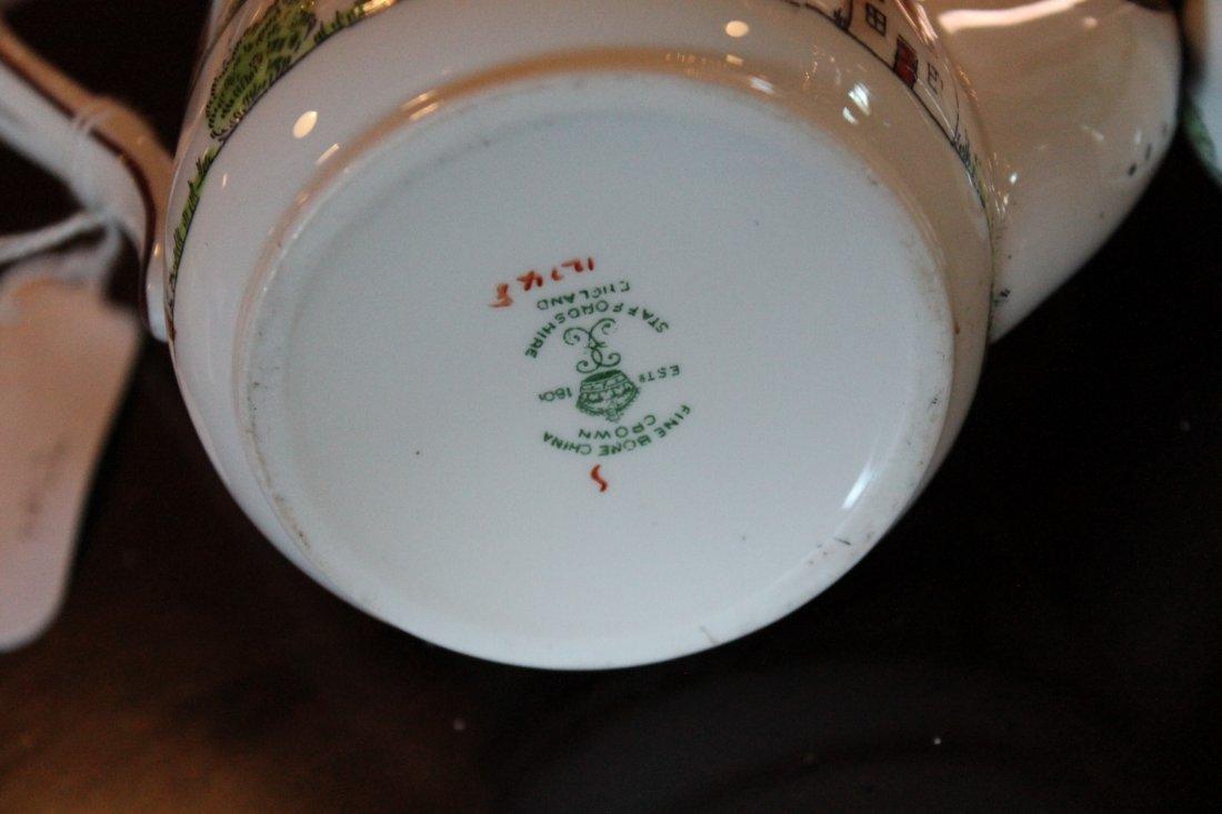 Fine Staffordshire Crown Porcelain Tea Service - 3