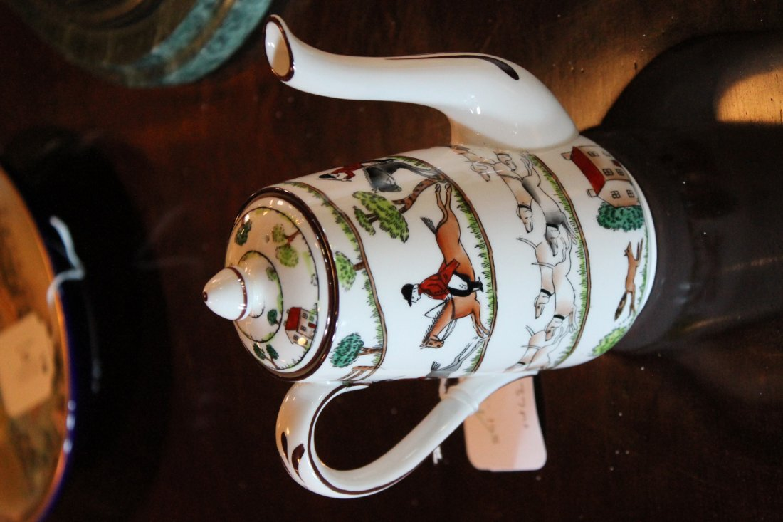 Fine Staffordshire Crown Porcelain Tea Service - 4