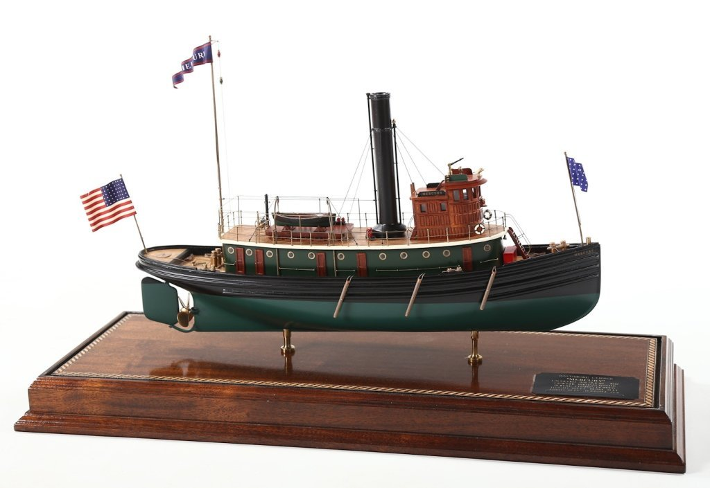 Fine Well-Detailed Vintage American Ship Model