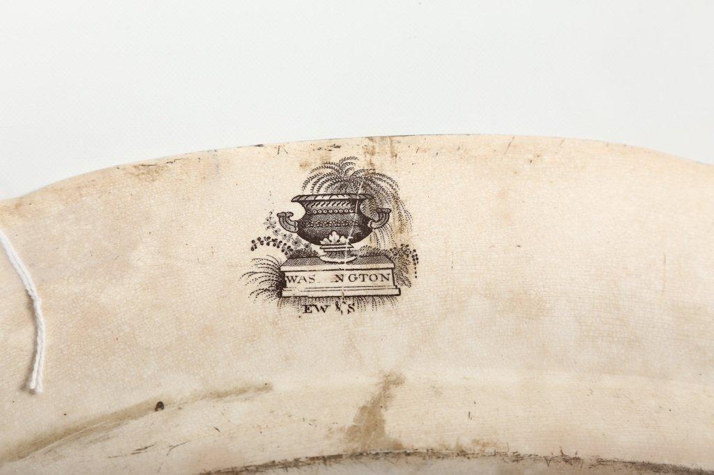 Uncommon British Staffordshire Ironstone Platter - 2