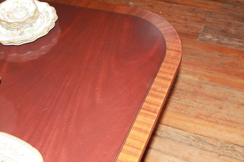 Federal Style Carved Mahogany Banquet Table - 3