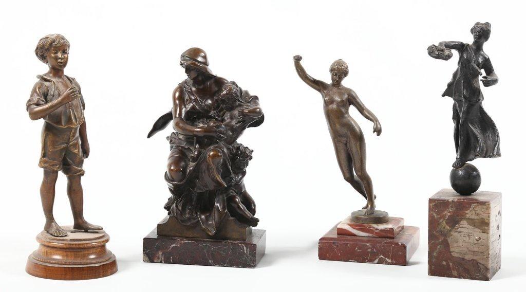 Collection Continental School Bronze Figures