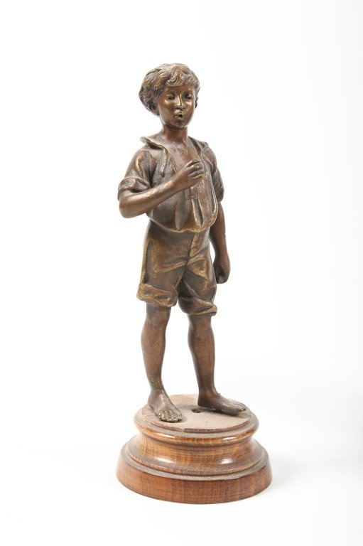 Collection Continental School Bronze Figures - 3