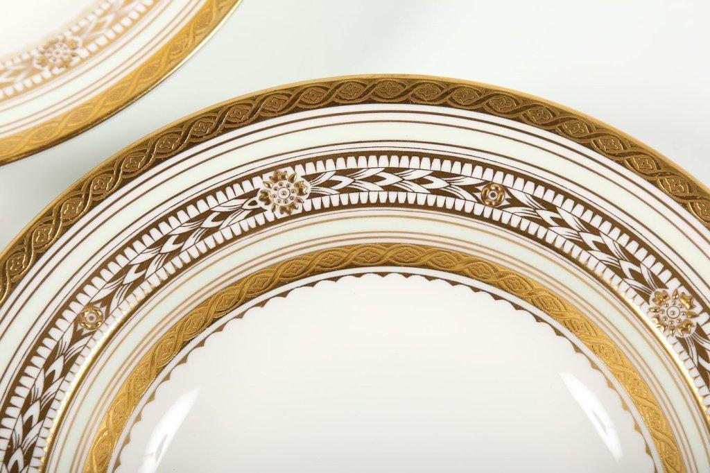 Very Fine Set Eight Minton/Tiffany Soup Bowls - 2