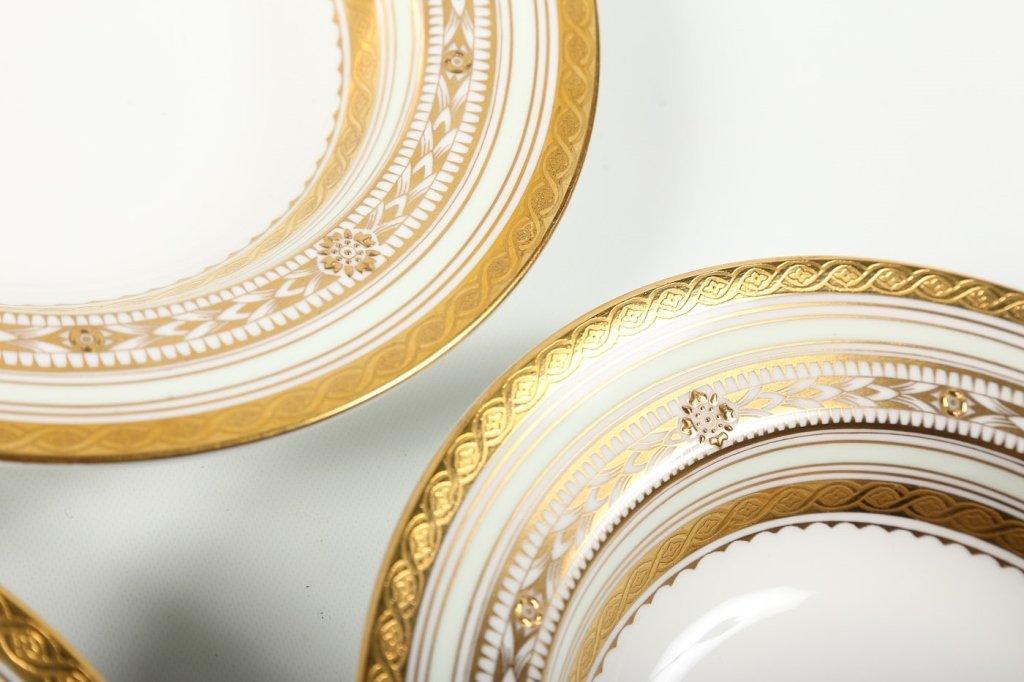 Very Fine Set Eight Minton/Tiffany Soup Bowls - 3