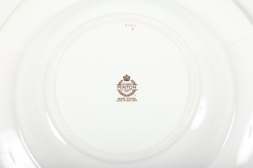 Very Fine Set Eight Minton/Tiffany Soup Bowls - 4