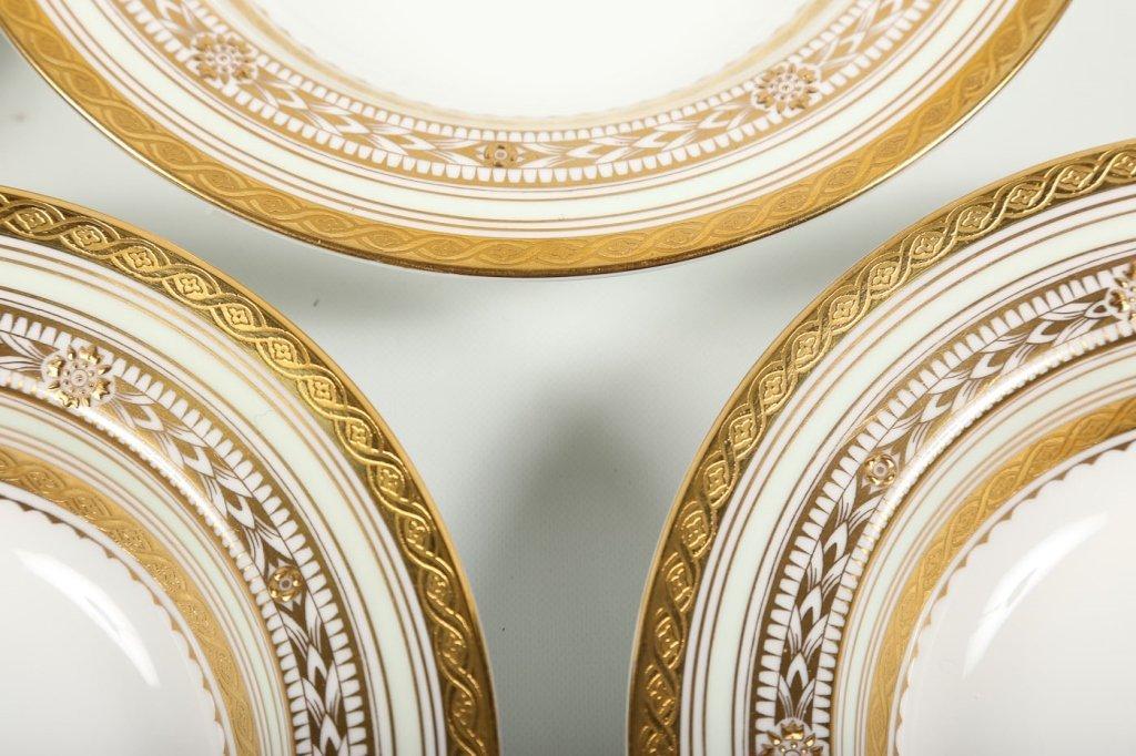 Very Fine Set Eight Minton/Tiffany Soup Bowls - 6