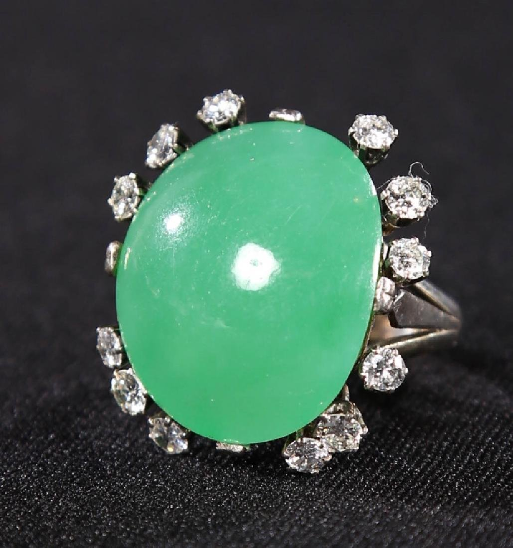 Very Fine & Important Chinese Imperial Jade Ring