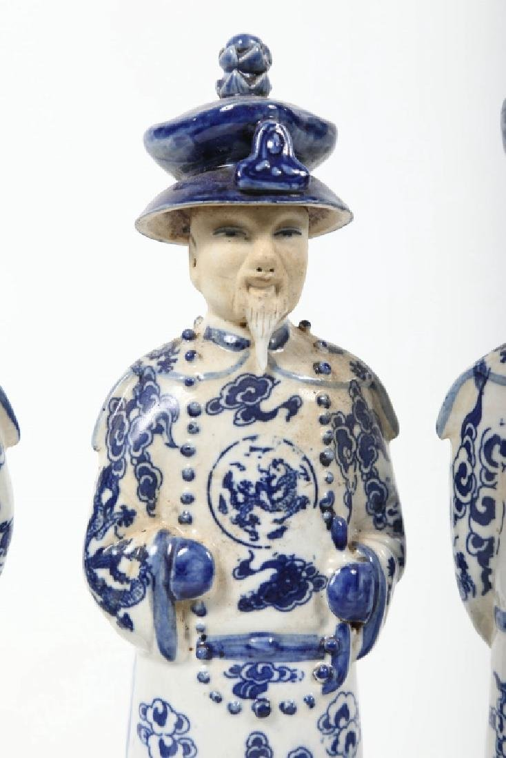 Antique Chinese Figural Porcelain Group - 5