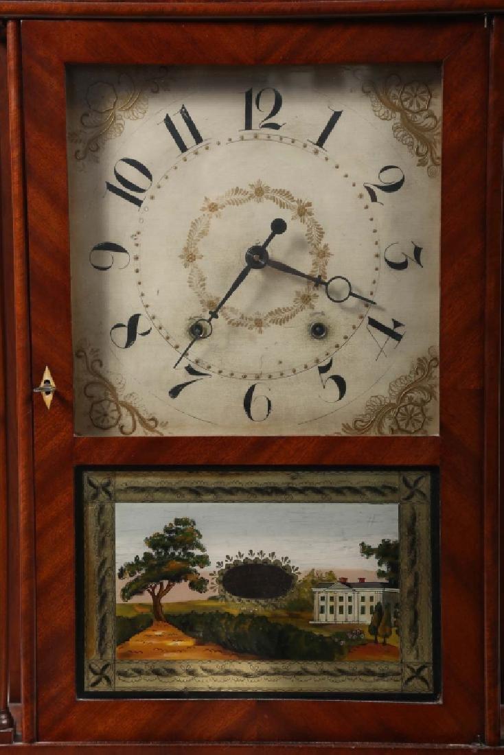 Very Fine Connecticut Federal Mahogany Clock - 3